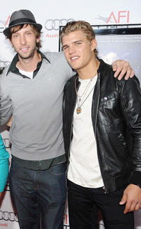 Joel Moore, and Chris Zylka at the AFI FEST 2010 in California.
