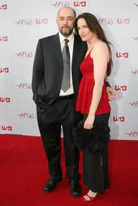 Richard Schiff and Sheila Kelley at the 35th AFI Life Achievement Award tribute to Al Pacino.