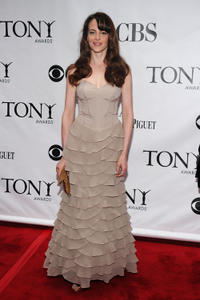 Maria Dizzia at the 64th Annual Tony Awards.