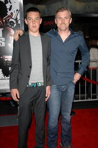 Holden and Rick Schroder at the premiere of