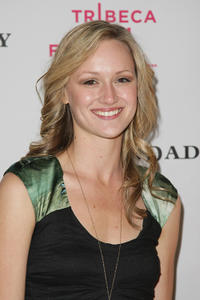 Kerry Bishe at the after party of the premiere of