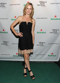 Kerry Bishe at the after party of Tribeca Film Festival in New York.
