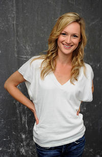 Kerry Bishe at the portrait session of Tribeca Film Festival 2011 in New York.