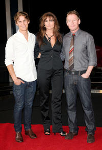 Rhys Wakefield, Alice Parkinson and Richard Roxburgh at the photocall of