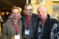 Peter Scolari, David Leisure and Jonathan Banks at the 4th Annual Wendie Jo Sperber Charity Golf event.
