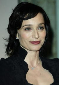 Kristin Scott Thomas at a photocall launching the third annual 'Renault French Film Season' in London.