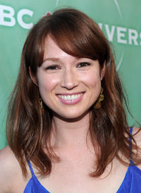 Ellie Kemper at the NBC Universal's 2010 TCA Summer party.