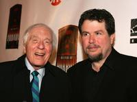Angus Scrimm and Director Don Coscarelli at the launch party of
