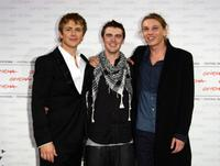 Charlie Bewley, Cameron Bright and Jamie Campbell Bower at the photocall of