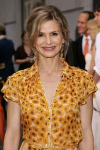Kyra Sedgwick at the opening of the Hermes store.