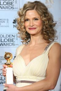 Kyra Sedgwick at the 64th Annual Golden Globe Awards.