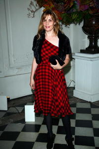 Emmanuelle Seigner at the Ralph Lauren dinner.