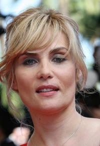 Emmanuelle Seigner at the Cannes Film Festival.