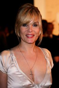 Emmanuelle Seigner at the 60th International Cannes Film Festival.