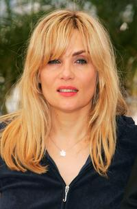 Emmanuelle Seigner at the photocall of