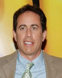 Jerry Seinfeld at New York for the special screening of