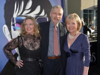 Lara Parker, David Selby and Kathryn Leigh Scott at the California premiere of