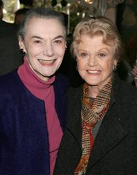 Marian Seldes and Angela Lansbury at the 2006 Tony Honors for Excellence In The Theatre luncheon.