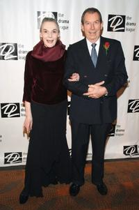 Marian Seldes and Richard Easton at the 21st Annual Spring Benefit Concert.