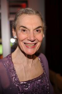 Marian Seldes at the after party of the premiere of