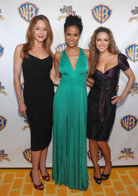 Jamie Luner, Shannon Kane and Chrishell Stause at the 2009 Emerald Gala celebrating the 70th anniversary of ''The Wizard of Oz'' in New York.