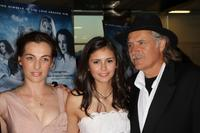 Ayelet Zurer, Nina Dobrev and Rade Serbedzija at the premiere of