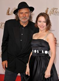 Rade Serbedzija and Agata Gotova at the premiere of