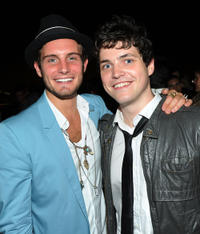 Nico Tortorella and Phil Ettinger at the New York premiere of