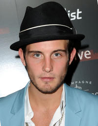 Nico Tortorella at the New York premiere of