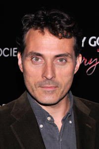 Rufus Sewell at the Gato Negro Films & The Cinema Society screening of 'Hotel Noir' at Crosby Street Hotel in New York City, NY.