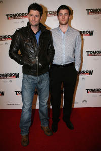 Paul O'Brien and James Frecheville at the Melbourne premiere of