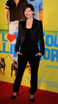 Delphine Chaneac at the premiere of
