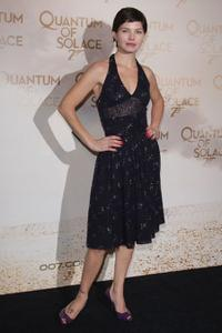 Delphine Chaneac at the Paris premiere of