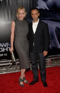 Marley Shelton and Francisco Costa at the premiere of