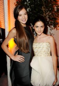 Hailee Steinfeld and Isabelle Fuhrman at the ELLE's 17th Annual Women in Hollywood Tribute.