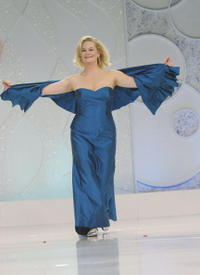 Cybill Shepherd at the catwalk at Runway For Life Benefiting St. Jude.