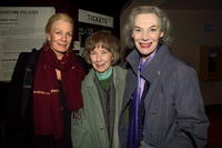 Vanessa Redgrave, Betsy Blair and Marian Seldes at the special screening of
