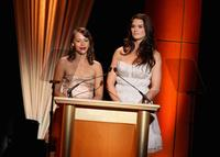 Brooke Shields and Rashida Jones at the 2007 Glamour Magazine Women of the Year Awards in New York.