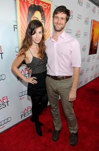 Sophia Takal and Lawrence Michael Levine at the