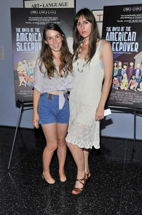 Sophia Takal and Rachel Young attend at the New York premiere of
