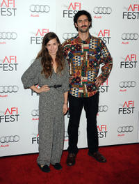 Sophia Takal and director Zach Weintraub at the California premiere of