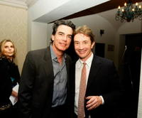 Martin Short and Peter Gallagher at the Comedy to Benefit The IMF's Peter Boyle Fund.
