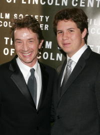 Martin Short and his son Henry Short at the Film Society of Lincoln Center 34th annual gala tribute to Diane Keaton.