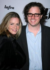 Elisabeth Shue and Davis Guggenheim at the 32nd Annual LA Film Critic's Association Awards.