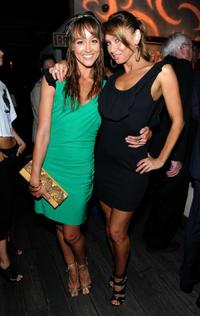 Sharni Vinson and Kim Johnson at the Australians In Film's 2010 Breakthrough Awards.