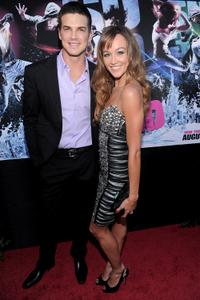 Rick Malambri and Sharni Vinson at the world premiere of