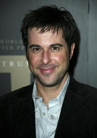 Jonathan Silverman at the Trump Vodka launch party.