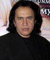 Gene Simmons at the Las Vegas Convention Center as part of the annual MAGIC International Fashion Convention.