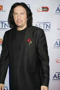 Gene Simmons at the A&E Network's Up-Fronts' event to unvail its Fall 2006 season line-up.