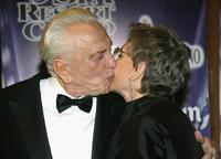 Jean Simmons and Kirk Douglas at the 16th Annual Palm Springs International Film Festival at the Palm Springs Convention Center.